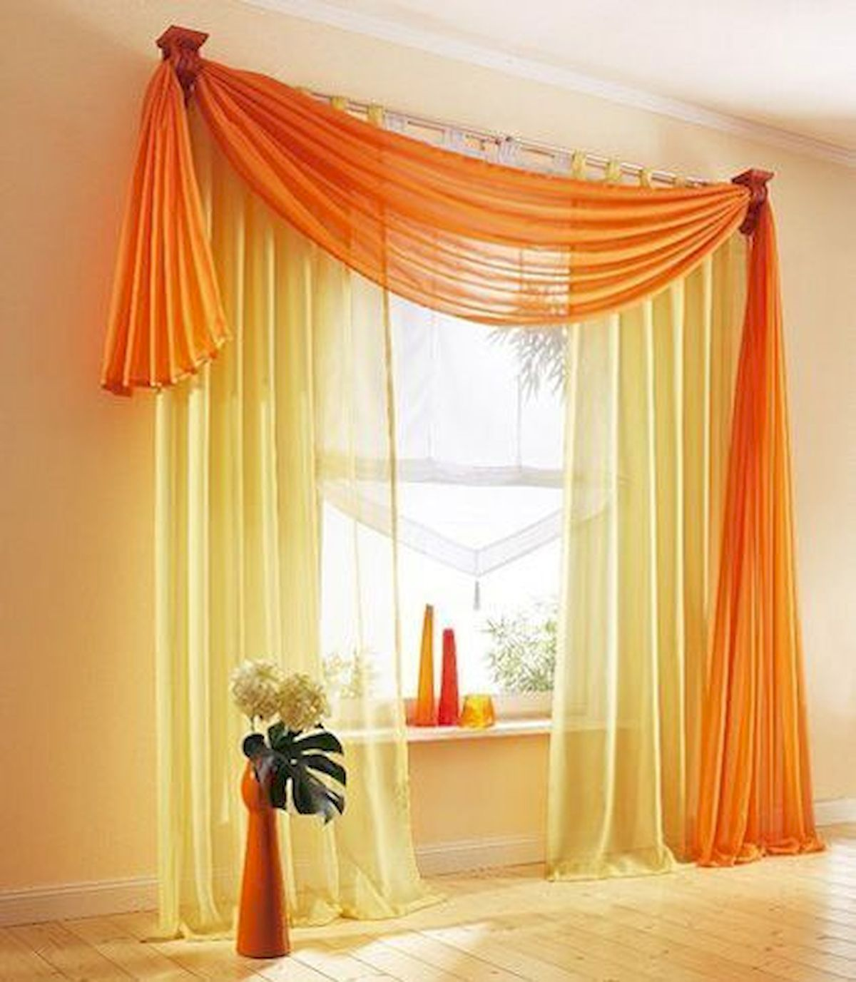 65 Adorable Window Curtains Design Ideas And Decor (53)