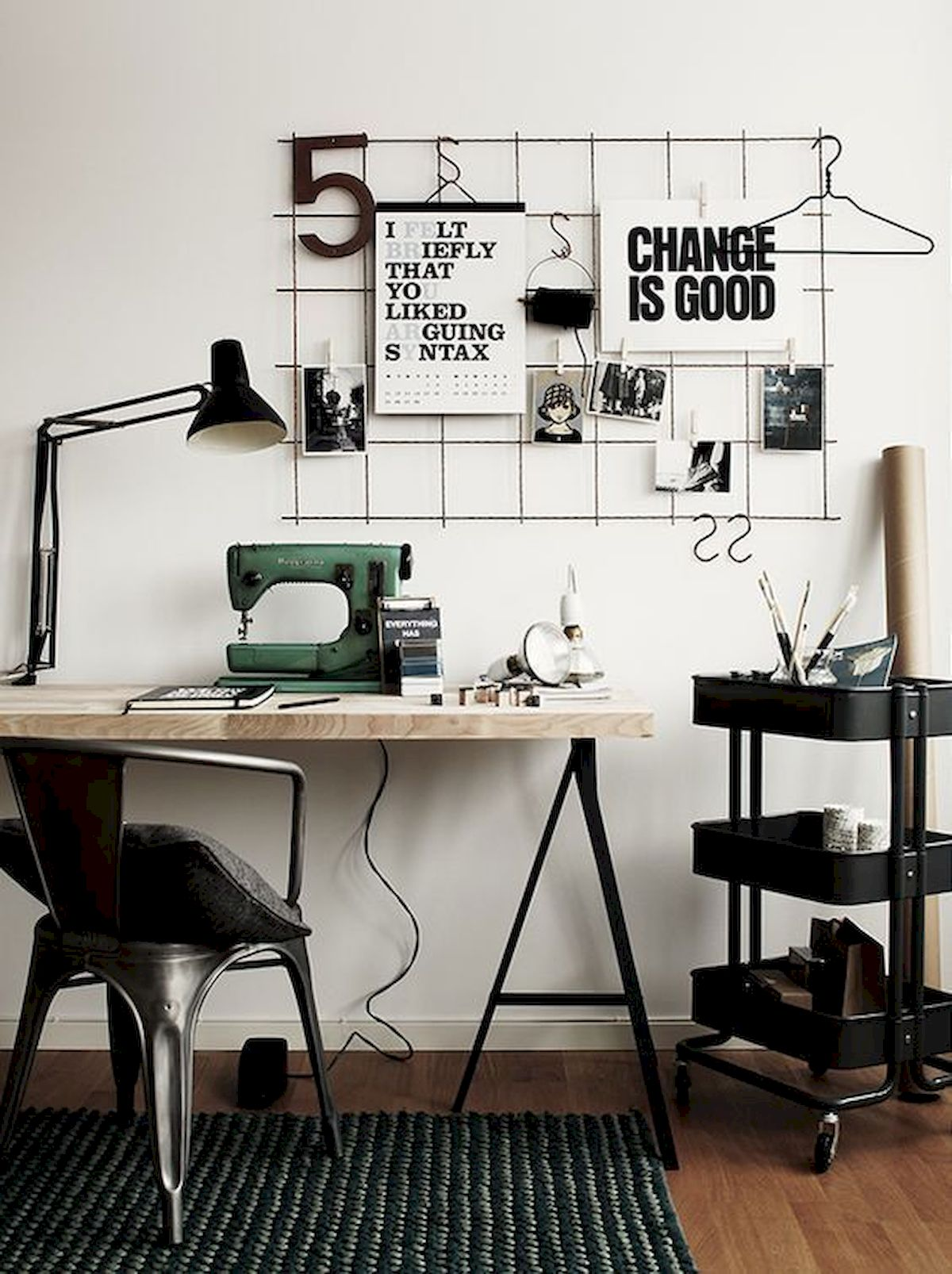 60 Favorite DIY Office Desk Design Ideas and Decor (47)