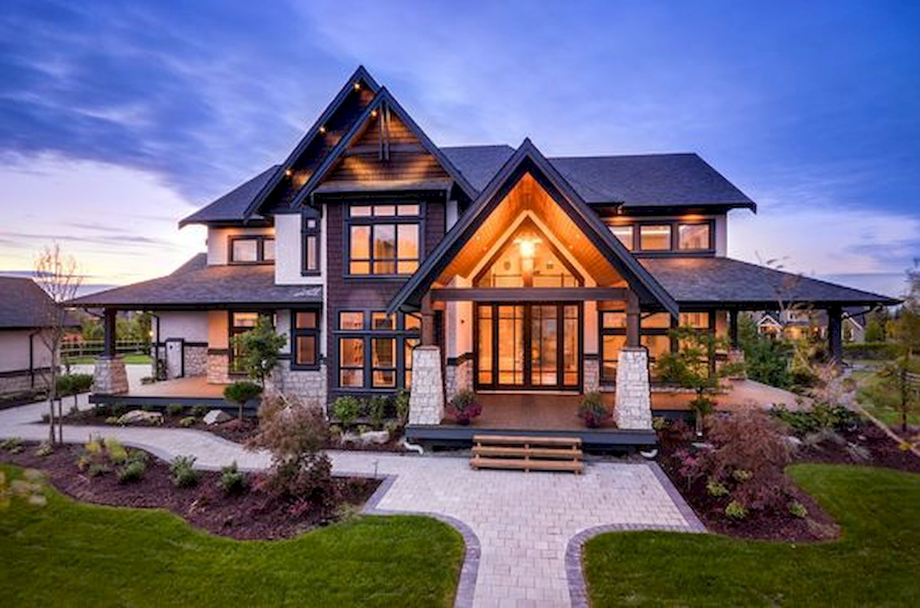 60 Most Popular Modern Dream House Exterior Design Ideas (41)