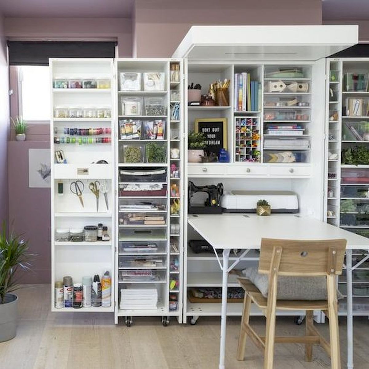 70 Favorite Craft Room Storage Solution (55)