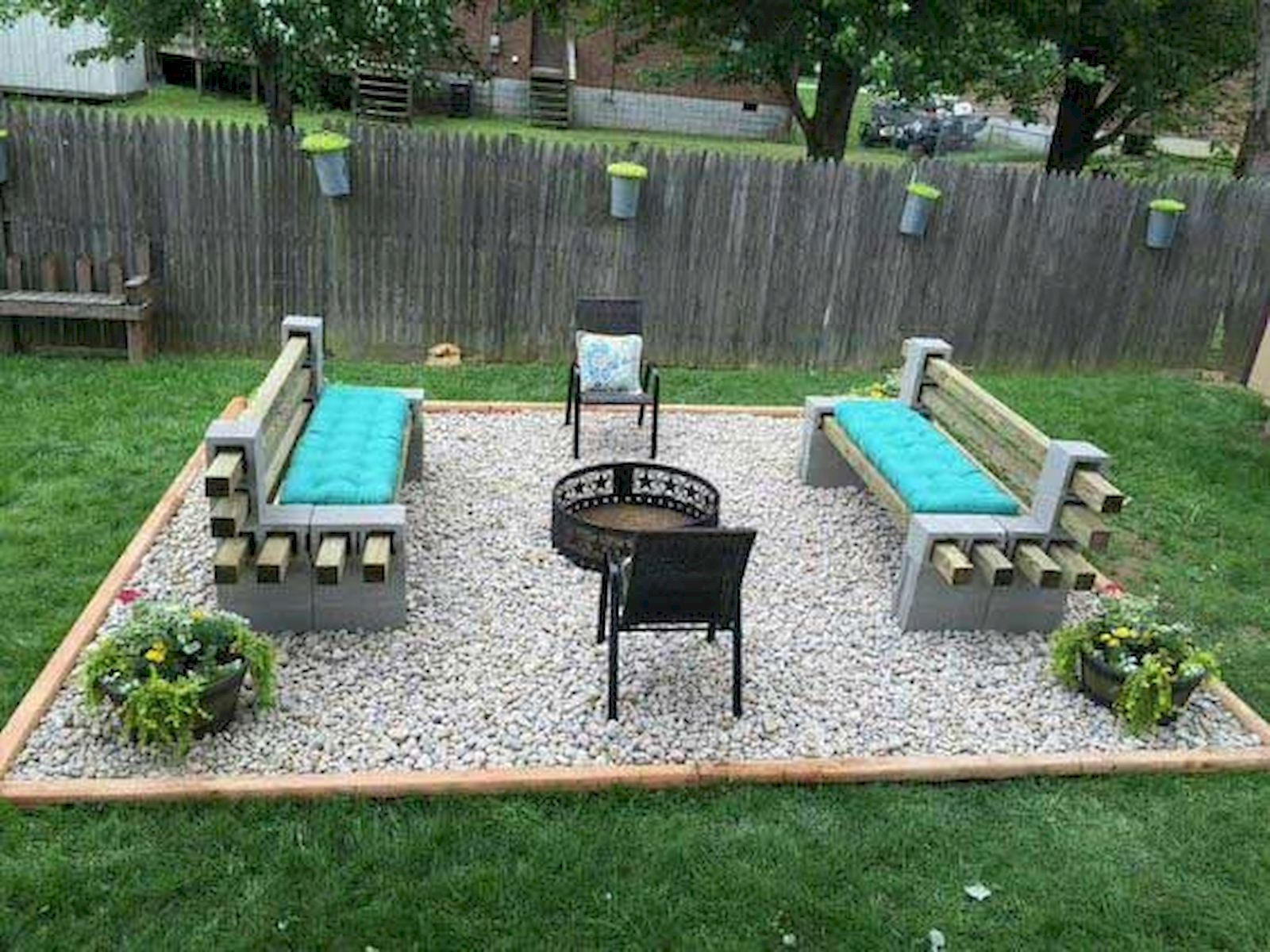 57 Awesome Backyard Fire Pit Ideas (38)
