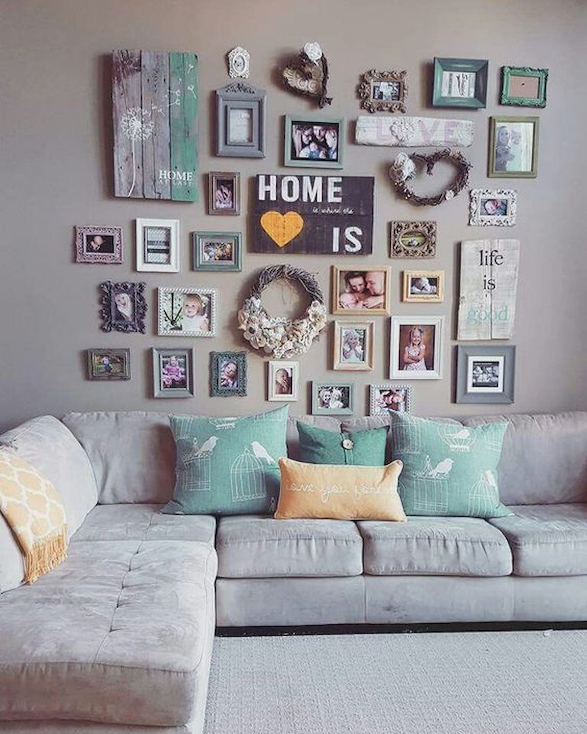 99 Diy Apartement Decorating Ideas On A Budget 23: 75 Best Farmhouse Wall Decor Ideas For Living Room (23