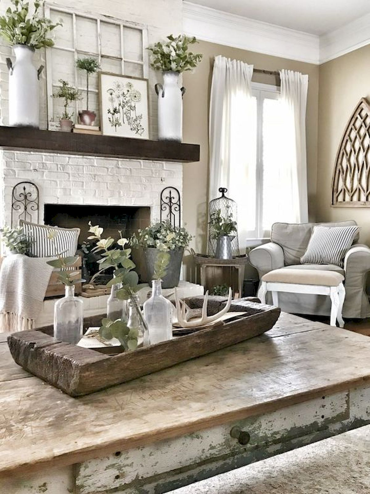 75 Best Farmhouse Wall Decor Ideas for Living Room - Ideaboz